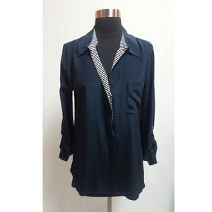 Diane von Furstenberg button up blouse
